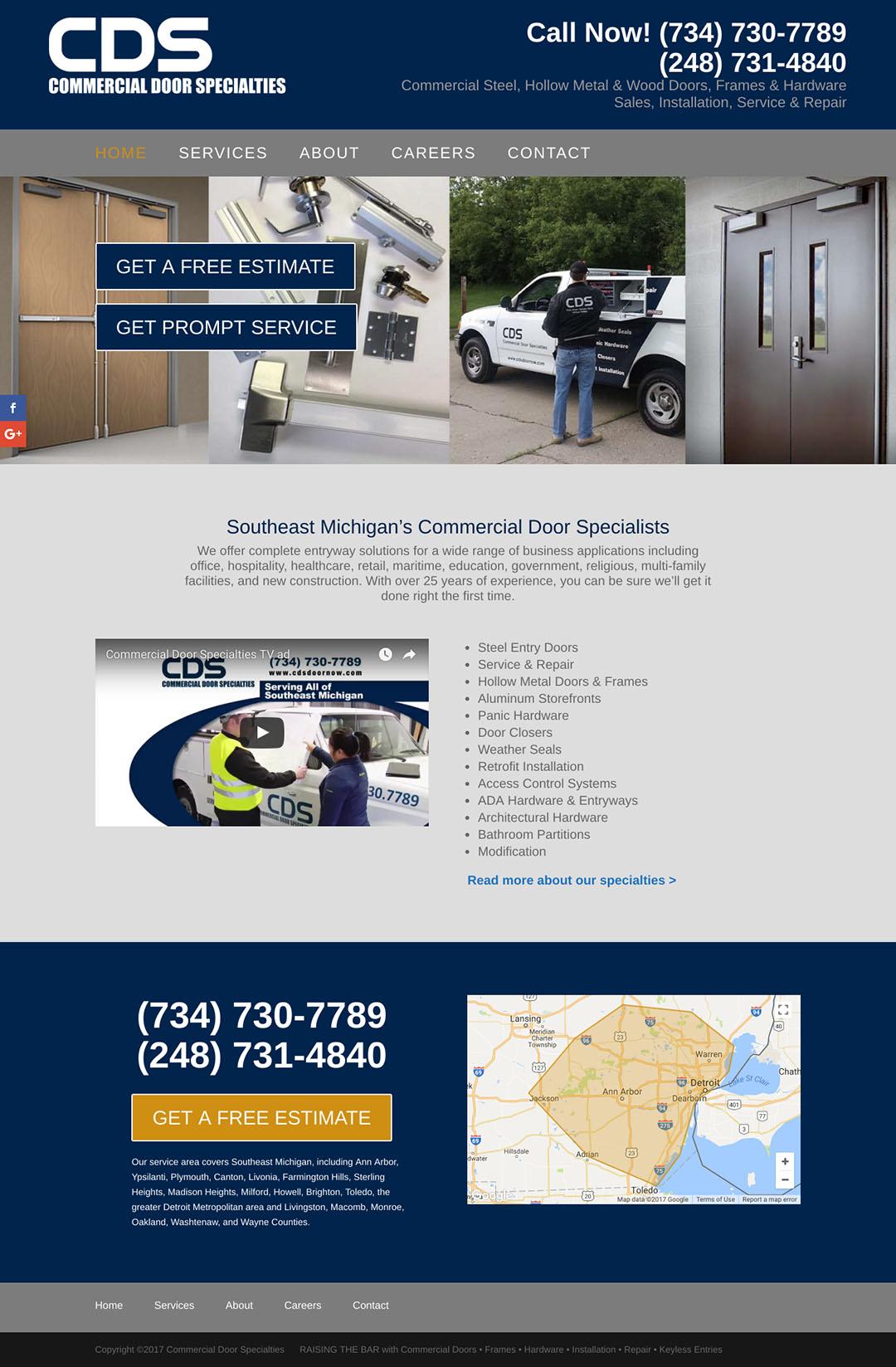 Commercial Door Specialties Home
